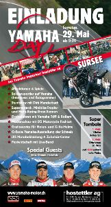 Flyer Yamaha Day - 2010
